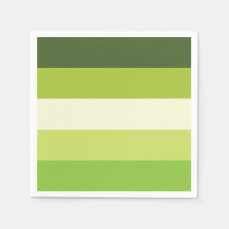 Granny Smith — Stripes Paper Napkins