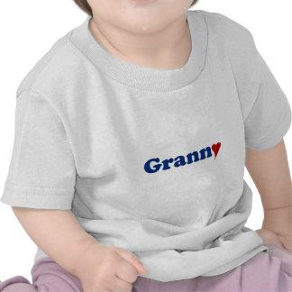 Granny with Heart Tshirt