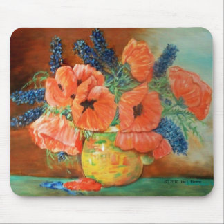 Granny's Flowers Mouse Pad