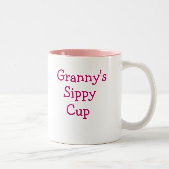 Granny's sippy cup coffee mug