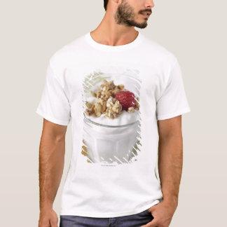 Granola, Oats, Toasted, Fruit, Berry, Raspberry, T-Shirt