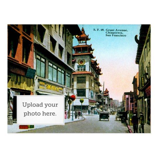 Grant Avenue Chinatown Postcard