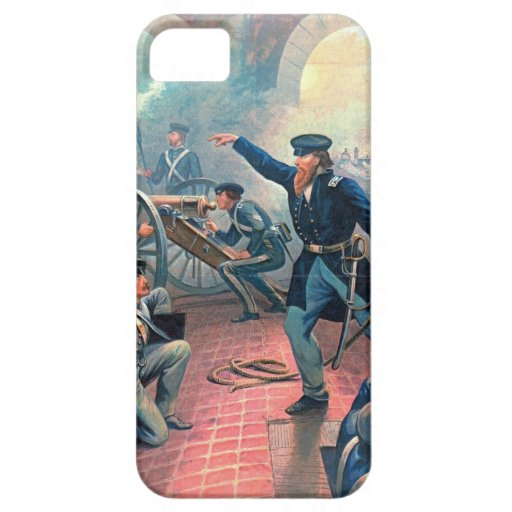 Grant Captures Mexico City 1860 iPhone 5 Covers