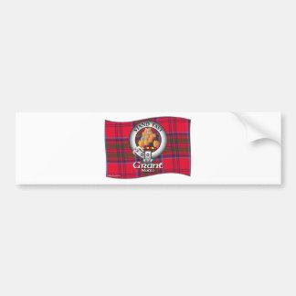 Grant Clan Bumper Sticker