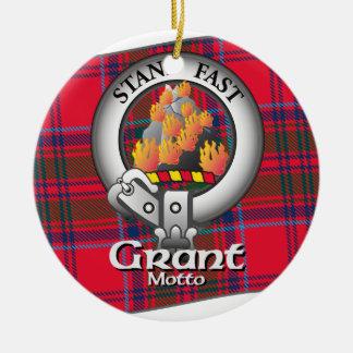 Grant Clan Christmas Ornament