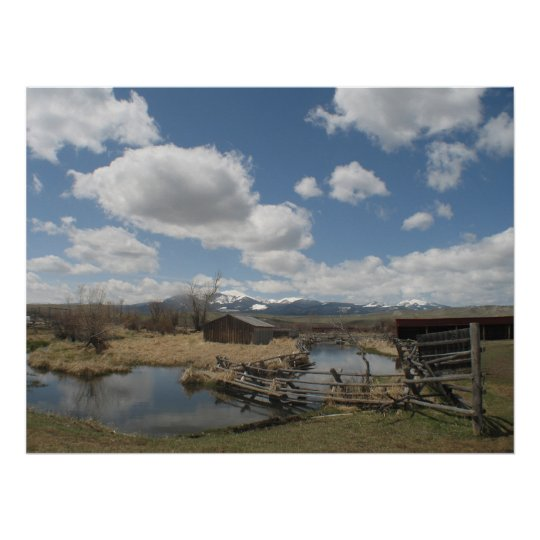 Grant Kohrs Ranch Photo Poster