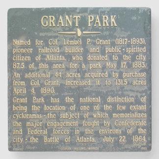 Grant Park, Atlanta, Georgia, Historical, Coasters Stone Coaster