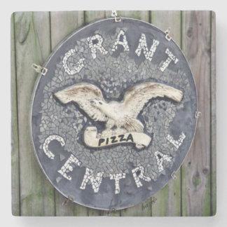 Grant Park, Atlanta, Grant Central Pizza Coasters Stone Beverage Coaster