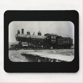 Grant Trunk Western Engine 1333 Mouse Pad