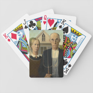 Grant Wood - American Gothic Bicycle Poker Deck