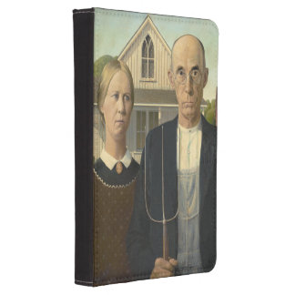 Grant Wood - American Gothic Kindle 4 Cover