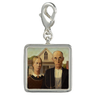 Grant Wood American Gothic Fine Art Painting
