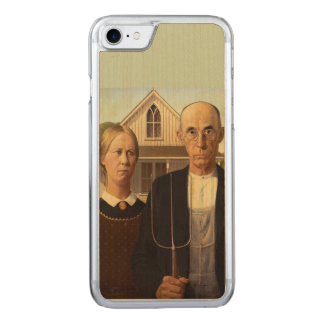 Grant Wood American Gothic Fine Art Painting Carved iPhone 7 Case