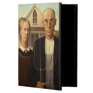 Grant Wood American Gothic Fine Art Painting iPad Air Case