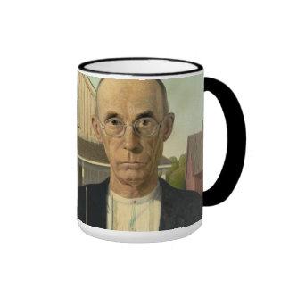 Grant Wood - American Gothic Mug