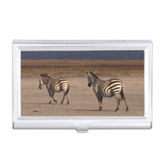Grant Zebra Business Card Holder