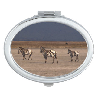 Grant Zebra Makeup Mirrors