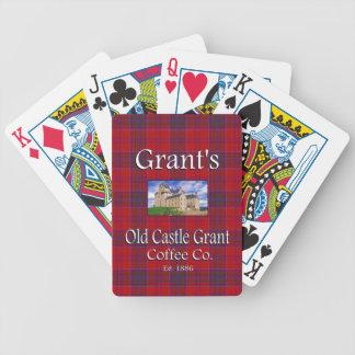 Grant's Old Castle Grant Coffee Co. Poker Deck