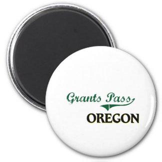 Grants Pass Oregon Classic Design 6 Cm Round Magnet