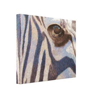 Grant's Zebra Canvas Print