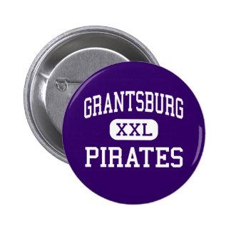 Grantsburg - Pirates - High - Grantsburg Wisconsin Pinback Button