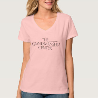 Grantsmanship Logo Women's Light V-neck Tee