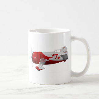 """Granville Brothers Aircraft  """"Gee Bee R-1"""" Basic White Mug"""