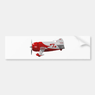 """Granville Brothers Aircraft  """"Gee Bee R-1"""" Bumper Sticker"""