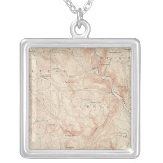 Granville, Massachusetts Silver Plated Necklace