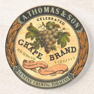 Grape Brand Chewing Tobacco - Customize! Beverage Coaster