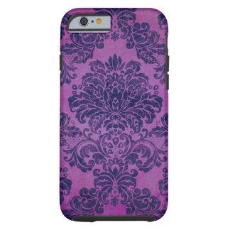 Grape Damask Tough iPhone 6 Case
