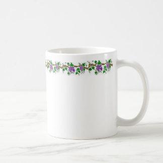 Grape Design Classic White Coffee Mug
