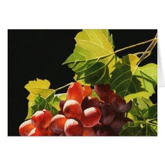 Grape Harvest Greeting Card
