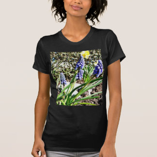 Grape Hyacinth Flowers Tee Shirt