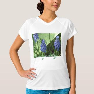 Grape Hyacinth Sleeveless Shirt