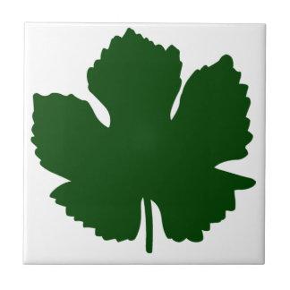 Grape Leaf Tile