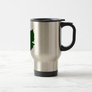 Grape Leaf Travel Mug