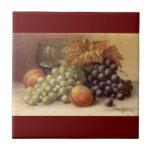 Grape or Wine Tile or Trivet