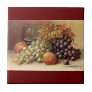 Grape or Wine Tile or Trivet