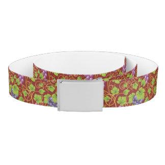 Grape Pattern Belt