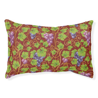 Grape Pattern Pet Bed