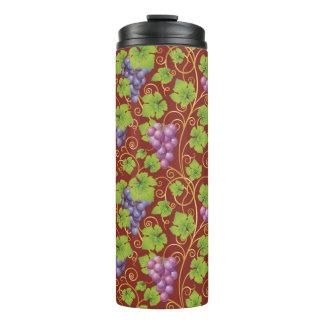 Grape Pattern Thermal Tumbler