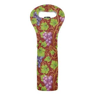 Grape Pattern Wine Bag