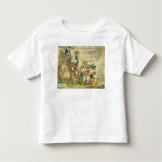 Grape-pickers carrying grapes to the press toddler T-Shirt