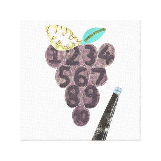 Grape Pool Canvas