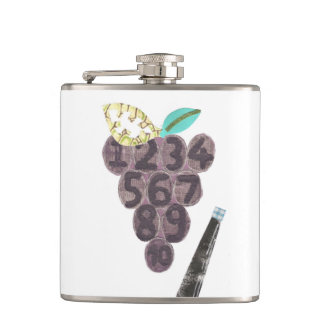 Grape Pool Flask