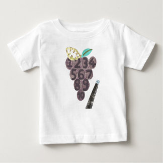 Grape Pool No Background Baby T-Shirt