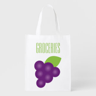 Grape Print Grocery