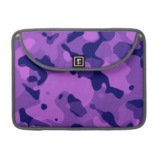 Grape Purple Camo; Camouflage MacBook Pro Sleeves