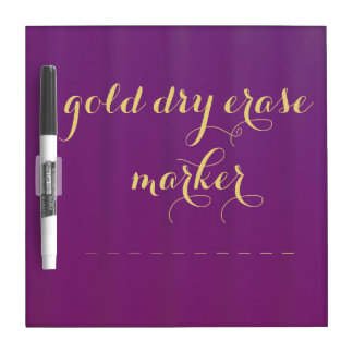 """Grape Purple"" Dry Erase Board"